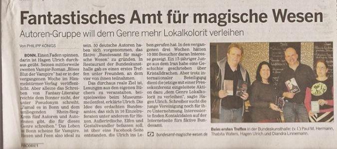 Bonner Rundschau 31.10.2013