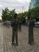 Ein Hungersnot-Denkmal