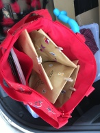Ein Beutel voller Goodietüten - ich bin sie alle losgeworden!